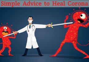 Simple Advice to Heal Corona