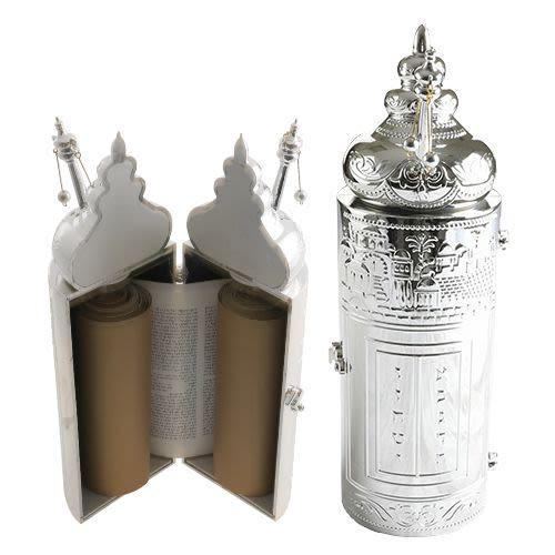 Plastic Sefardic Sefer Torah