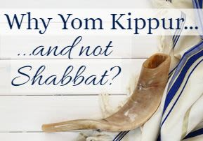 Why Yom Kippur, and Not Shabbos?