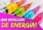 Una inyección de energía