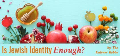 Is Jewish Identity Enough?