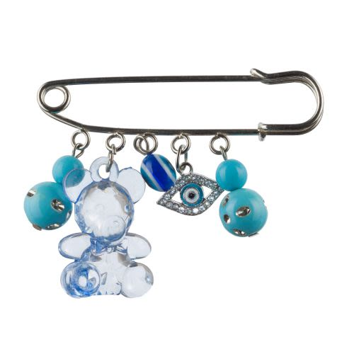 Decorative Pin for Baby Carriage - Blue