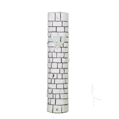 Mezuzah with Engraving of the Kotel (Western Wall)