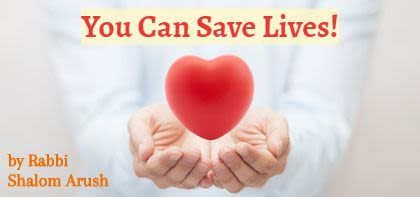You Can Save Lives!