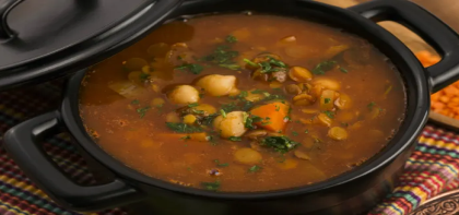 Moroccan Beef Soup