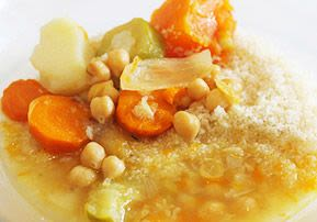 Chicken, Vegetable, and Couscous Soup