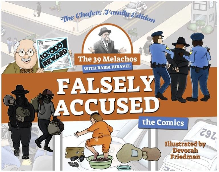 The 39 Melachos with Rabbi Juravel - Falsely Accused