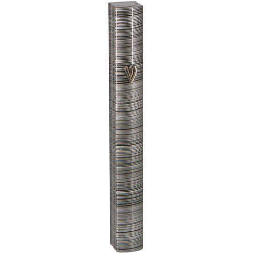 Aluminum Mezuzah Cover, Large
