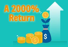 2000% Return