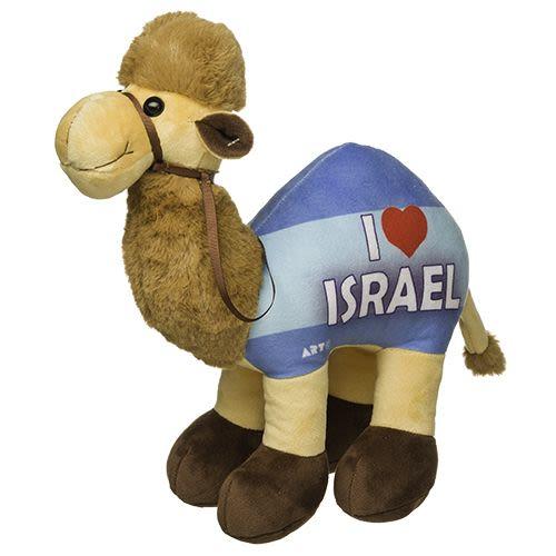 בובת גמל בד - I LOVE ISRAEL