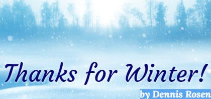 Thanks for Winter!