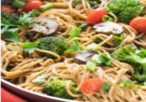 One-Pot Broccoli and Olive Oil Spaghetti