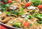 One-Pot Broccoli and Olive Oil Spaghetti