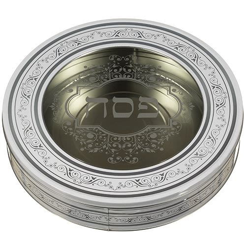 Round Box for Pesach Matzot
