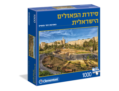 Israeli Puzzle Series - Wall of the Old City, 1000 pieces