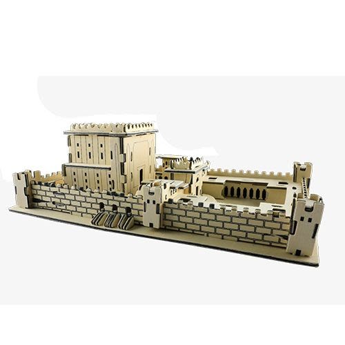 Three-Dimensional Wooden Puzzle of the Beit HaMikdash