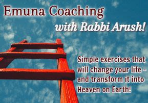 Rabbi Arush's Weekly Spiritual Exercises