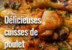 Déliicieuses cuisses de poulet
