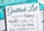 A Month of Gratitude