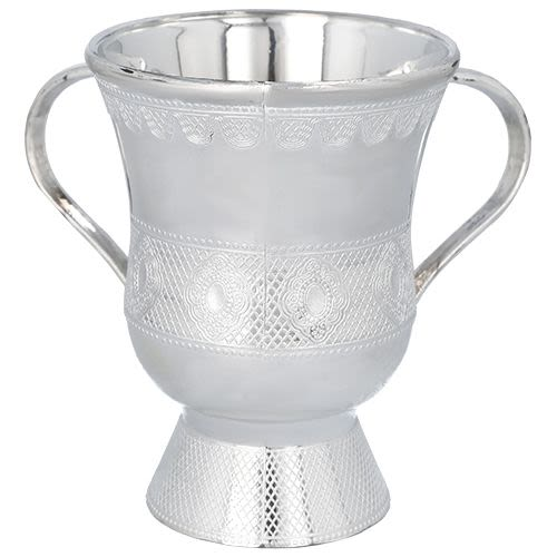 Plastic Silver-Colored Washing Cup