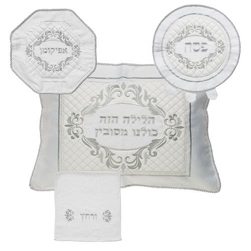 Passover Kit: Matzot Cover, Afikomin, Pillowcase, Towel