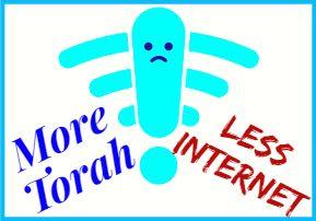 More Torah, Less Internet