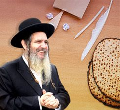 The search for chametz
