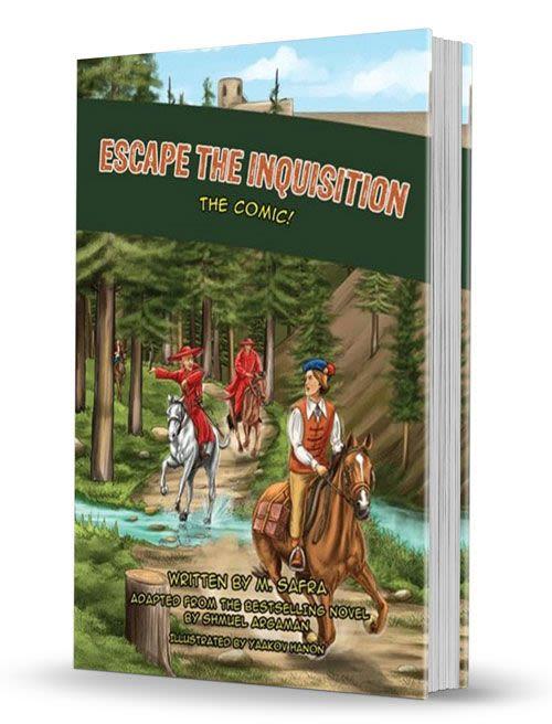 Escape the Inquisition, The Comic!
