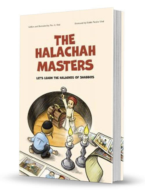 The Halachah Masters - Let's Learn the Halachos of Shabbos