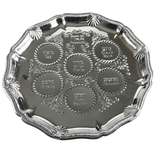 Decorative Passover Seder Plate