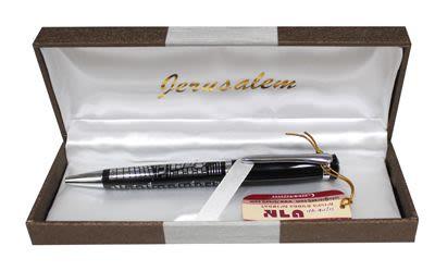 "Black Pen with ""Segula for Livehood"" Inscribed"