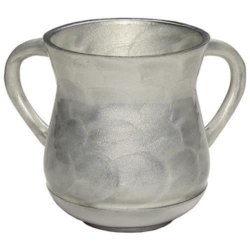 Handwashing Cup Made of Aluminum in Black-Gray Shades
