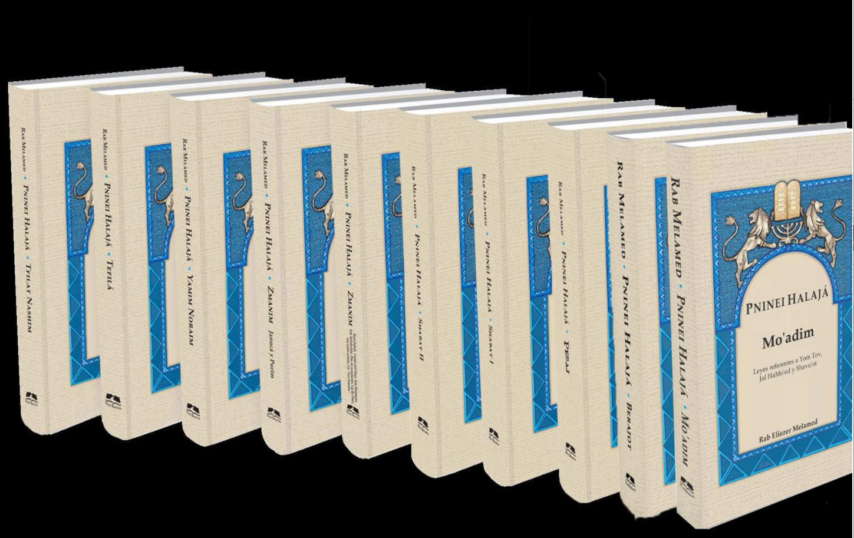 Colección Completa de Pninei Halajá - Compendio de Leyes Judías