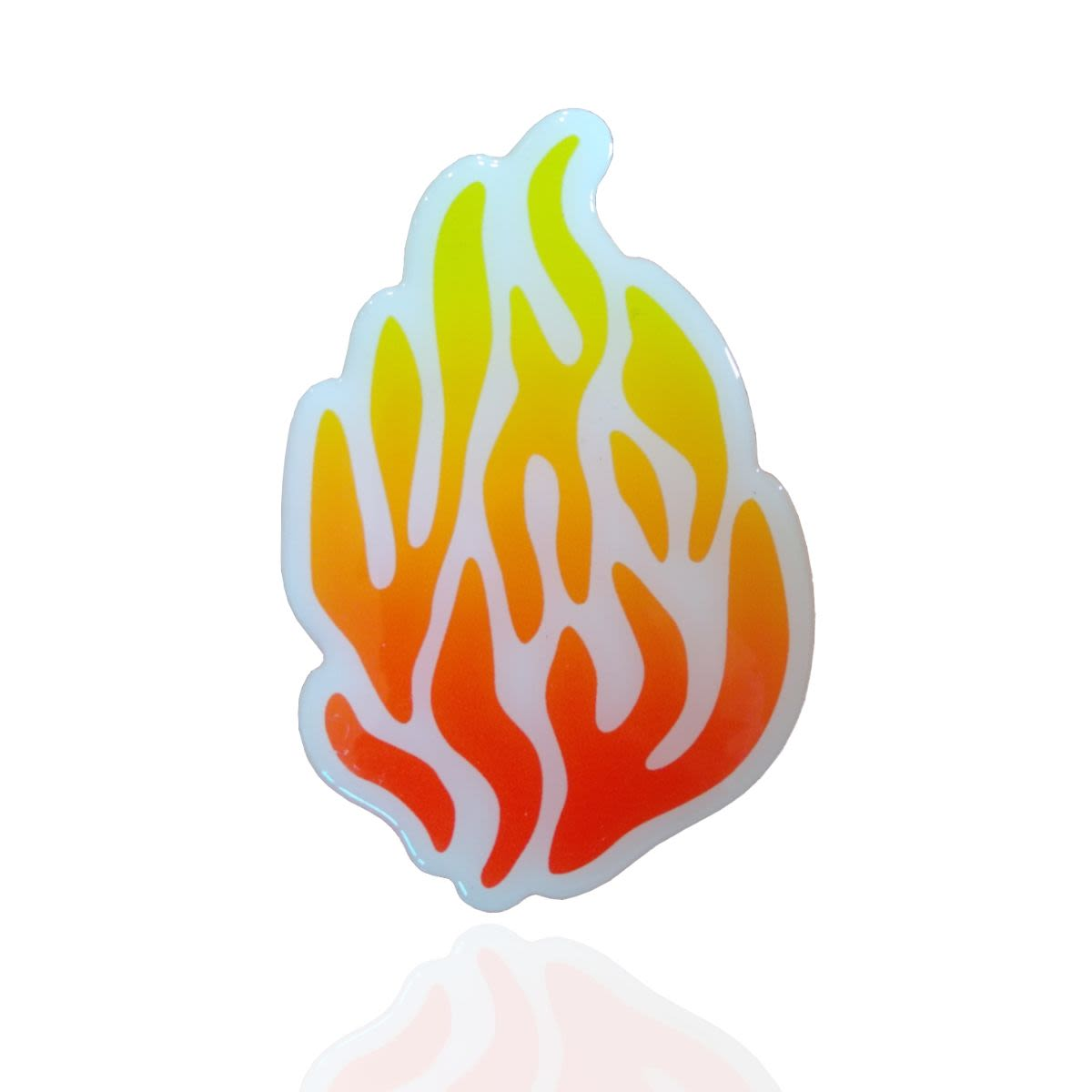 """Stickers - """"My Fire"""", 3D on White Background"""