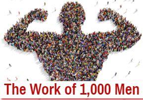 The Work of 1,000 Men