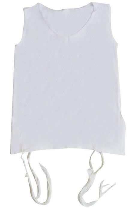 Tzitzit - Large, White, Sephardi