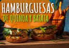 Hamburguesas de quinoa y batata