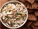 Cold Smoked Fish Salad