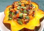 Brisket- and Veggies-Stuffed Acorn Squash