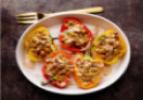 Vegetarian Moroccan Stuffed Peppers