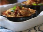 Chai Roasted Stuffed Acorn Squash